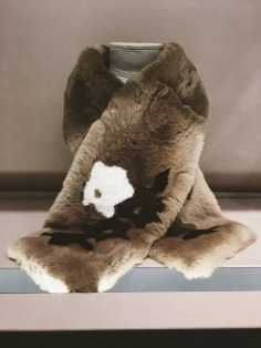 Max Mara Fall//Winter fur scarf
