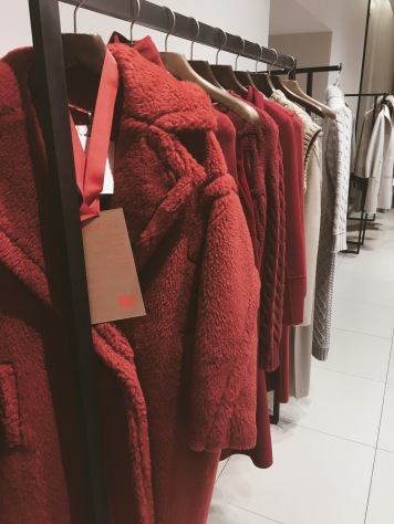 Max Mara Fall//Winter red